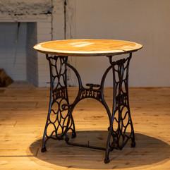 アンティーク 丸テーブル