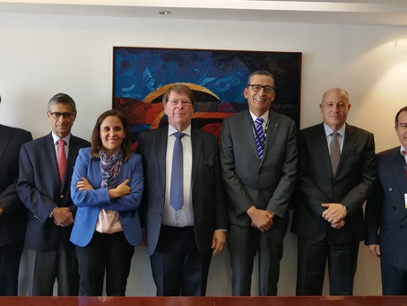 Director General del WSBI se reunión con representantes de FEPCMAC, SBS y CAF