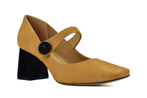 Pumps Margaret (dark cheddar)