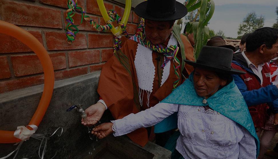Agua y saneamiento - Alianza con water.org