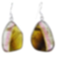Toumaline earrings