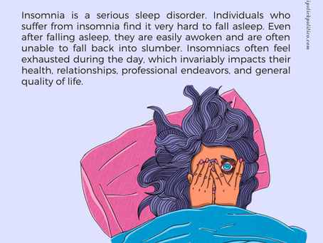 I is for Insomnia