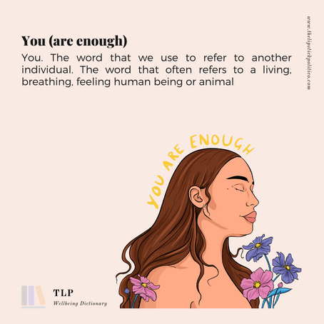 Y is for You (Are Enough)