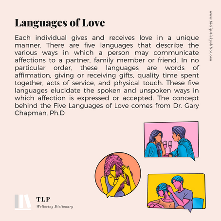 L is for languages of love