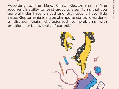 K for Kleptomania
