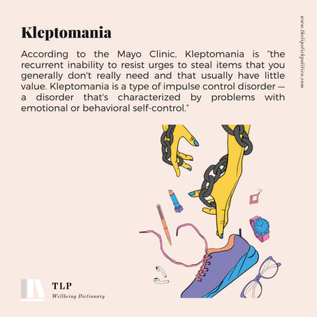 K for Kleptomania