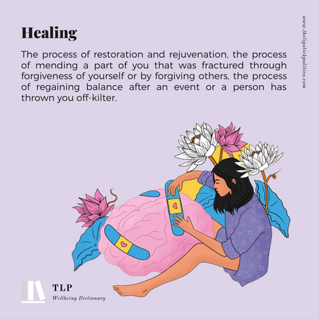 H is for Healing
