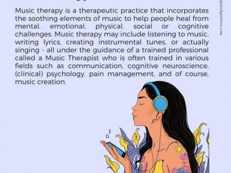 M is for Music Therapy