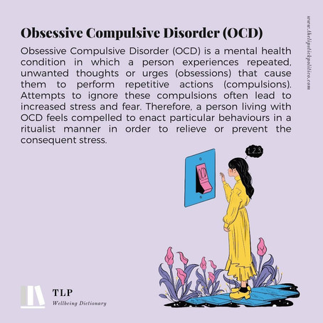 O for Obsessive-Compulsive Disorder (OCD)