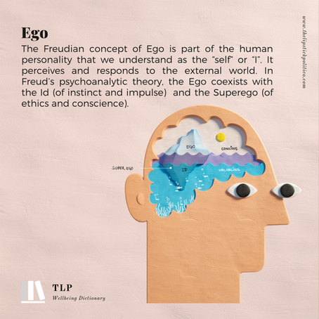 E is for Ego ( Id and Super Ego)