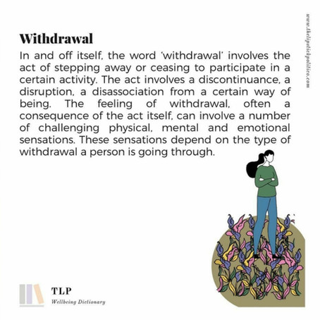 W is for Withdrawal