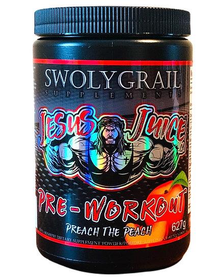 JesusJuice Complete Pre-Workout Preach the Peach