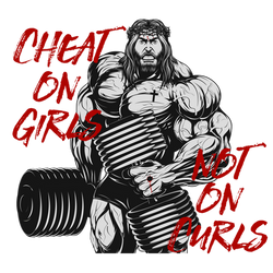 cheat on girls not on curls PNG2