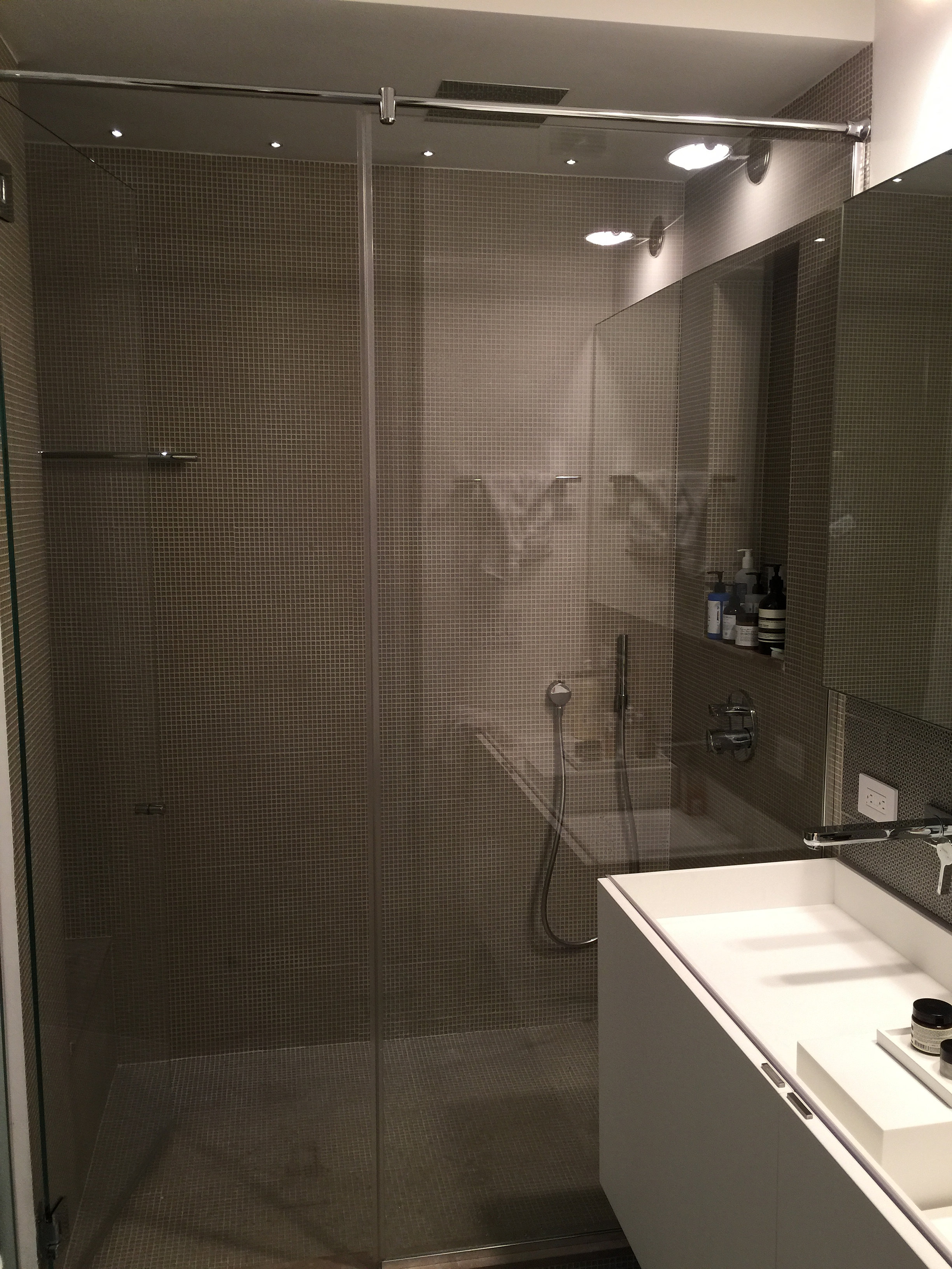 Glass Shower Door New York Glass R Us Frameless Swing