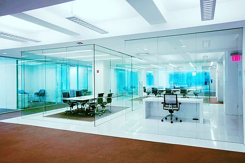 Frameless glass shower doors table tops and mirrors installation in New York and New Jersey Glass'R'us low price