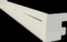 Barre de charge métallique pour crochets