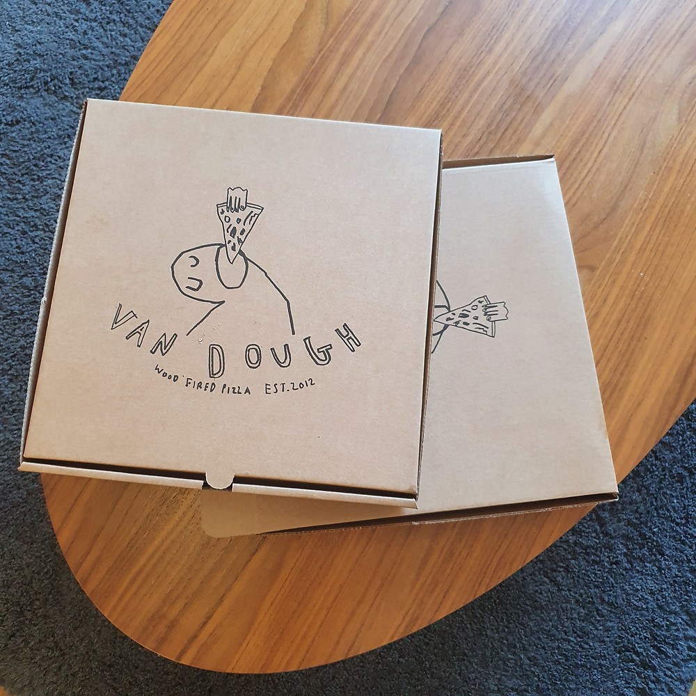 Van Dough Pizza Boxes
