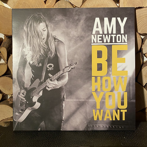 """Amy Newton """"Be How You Want"""" CD"""