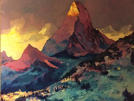Ма́ттерхорн, Matterhorn, Monte Cervino, Mont Cervin.