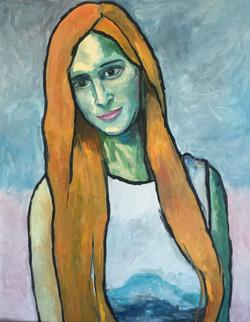 Портрет Лизы. 2020