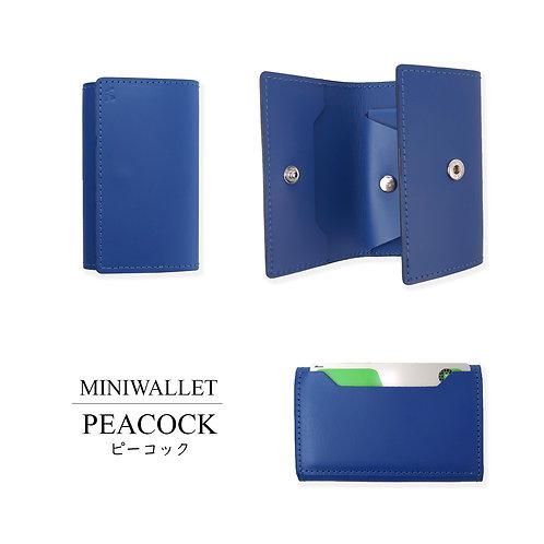MINI WALLET/PEACOCK
