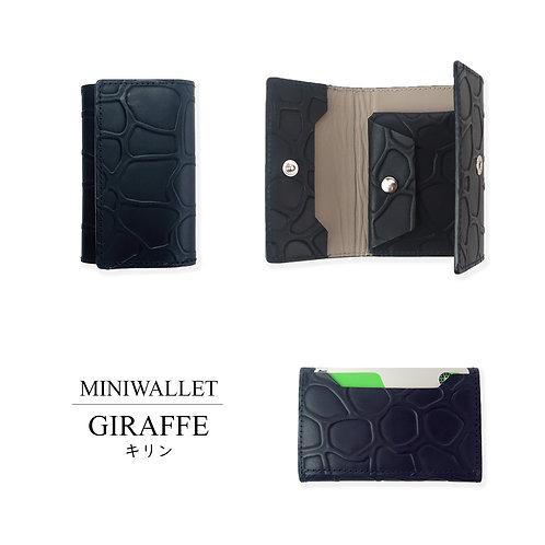 MINI WALLET/GIRAFFE.BK