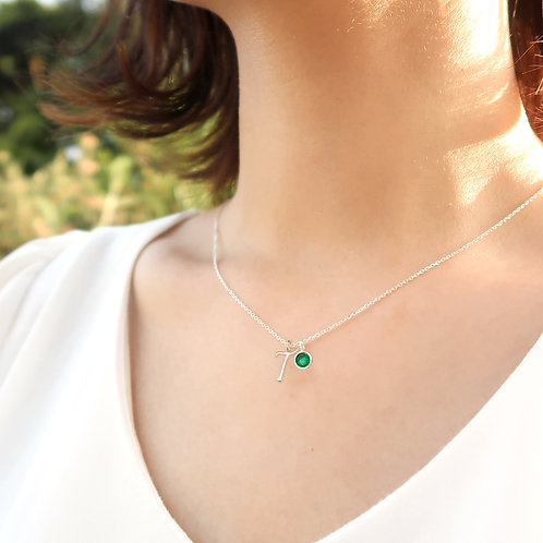 """BIRTHSTONE WITH """"T"""""""