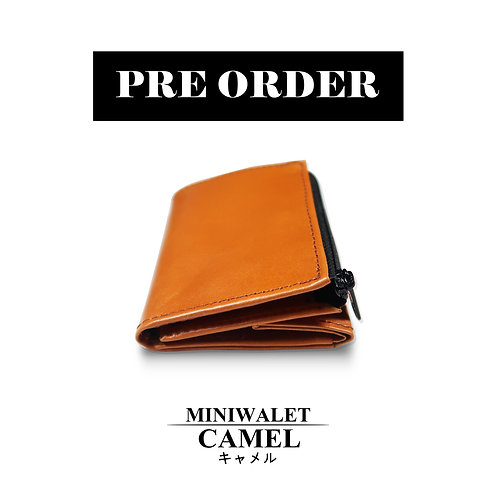 miniwallet camel color
