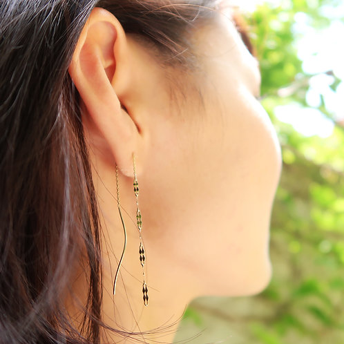 TWINKLE CHAIN EARRINGS