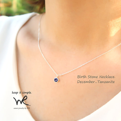 BIRTHE STONE /DEC.TANZANITE
