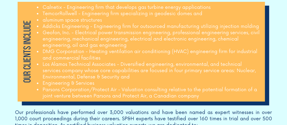 Engineering Industry Experience