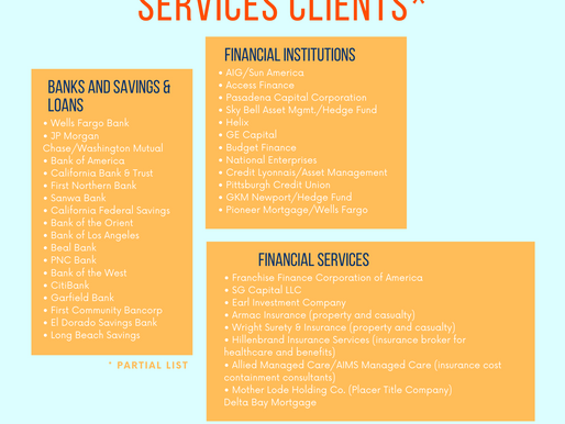 Banks, Financial Institutions, Insurance & Financial Services Clients