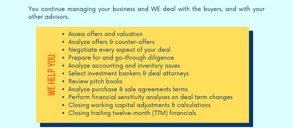 Transaction Advisory Services