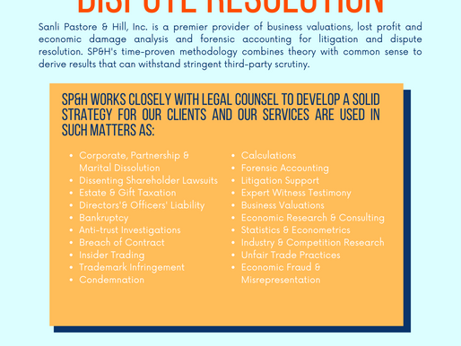 Litigation Support & Dispute Resolution