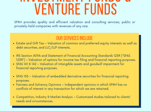Private Equity Funds, Investment Funds, & Venture Funds