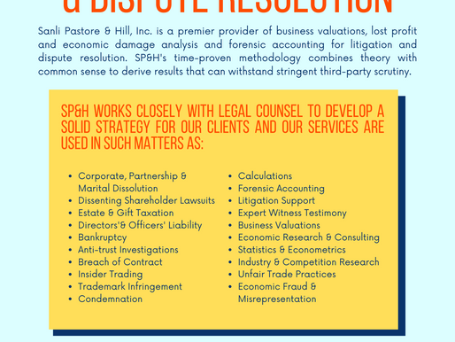 Litigation Support & Dispute Resolution