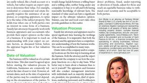 Business Valuation Basics of Divorce