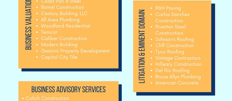 Construction Company Experience