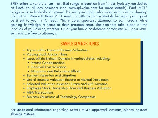 MCLE Seminars