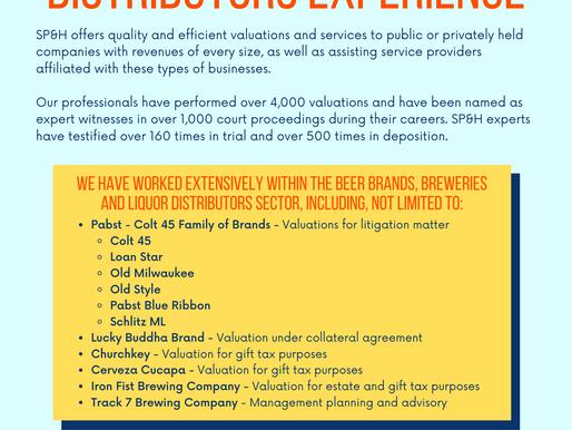 Beer Brands, Breweries, & Distributors Experience