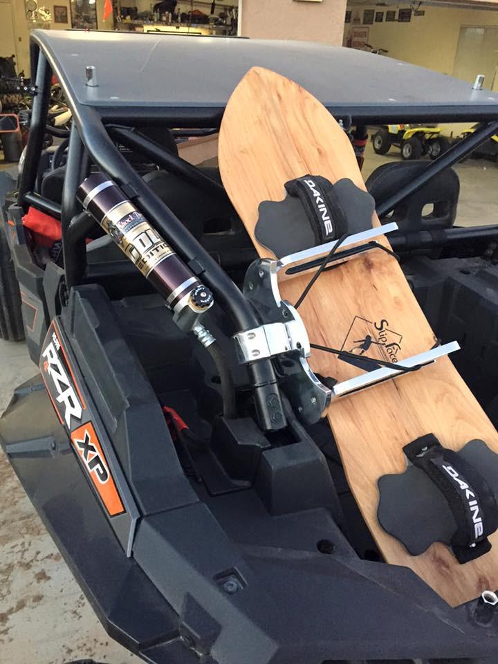 rzr and slip face sandboard