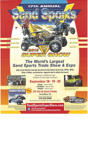 World's Largest Sand Sports Trade Show