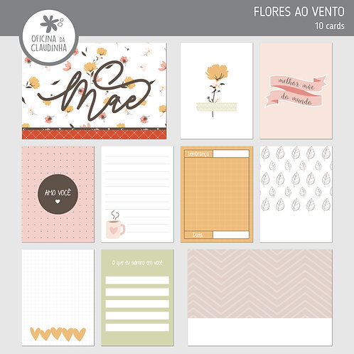 Flores ao vento | Cards digitais