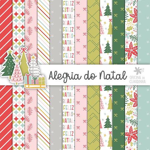 Alegria do Natal | Papéis impressos