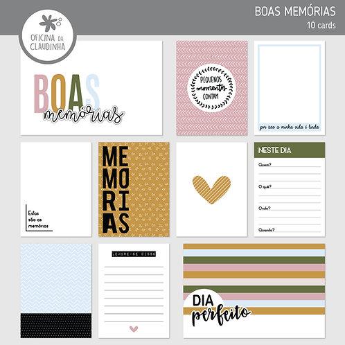 Boas memórias | Cards impressos