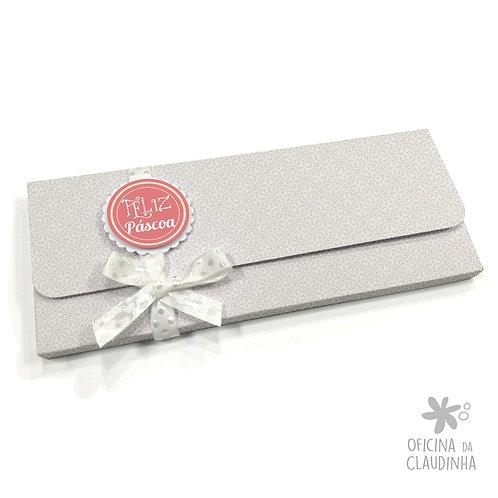 Caixa para 1 barra de chocolate - Delicatesse Lilás