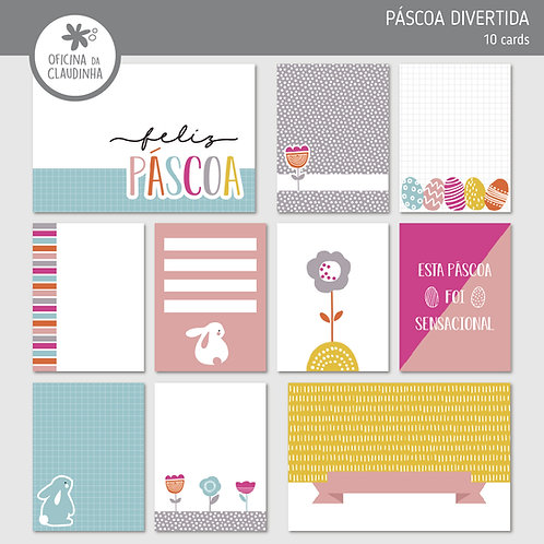 Páscoa divertida | Cards impressos