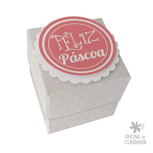 Caixa de Páscoa para 1 Ferrero Rocher - Delicatesse Lilás