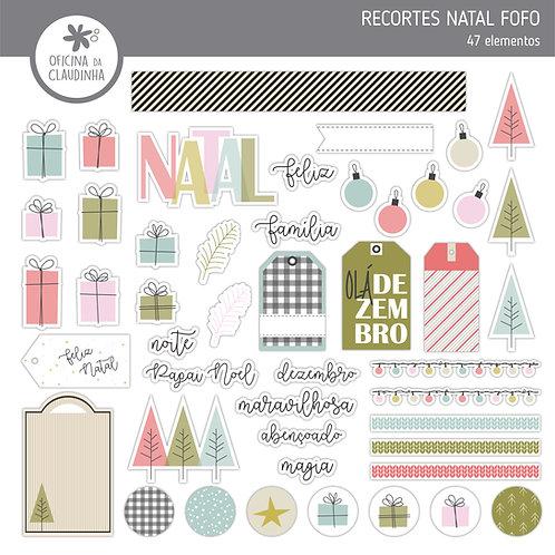 Natal fofo | Recortes impressos