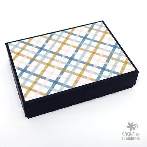 Caixa 11,5 x 8,5 x 2,5 cm